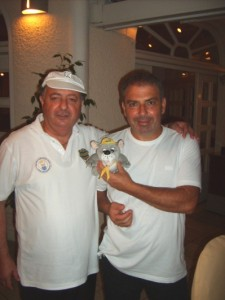 Cyprus - Chris and Michael - Gardens Restaurant owners