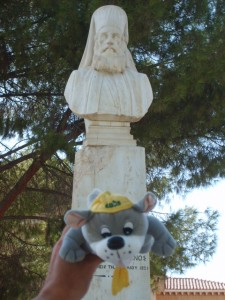 Archbishop Makarios statue in Cyprus