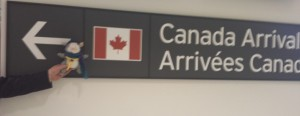 Canada arrival