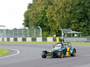 A racing Caterham 7