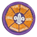 Cub Diamond Jubilee Badge